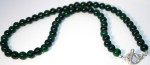 Emerald Green Jade with organic T-bar catch